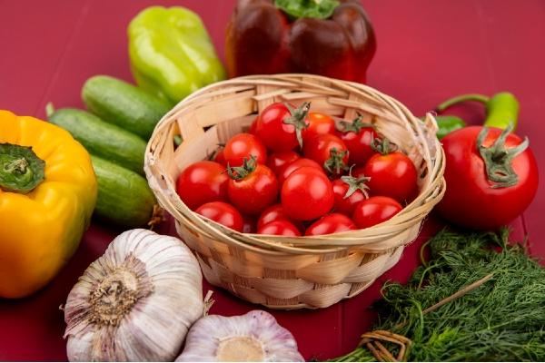 alzas en las frutas y verduras